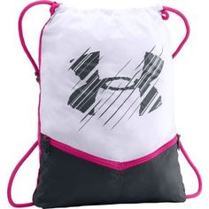 Under Armour Recruit Sackpack, Pink