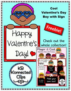 Valentine's Day Clip Art Freebie! https://www.teacherspayteachers.com/Product/Valentines-Day-Clip-Art-Freebie-1676875