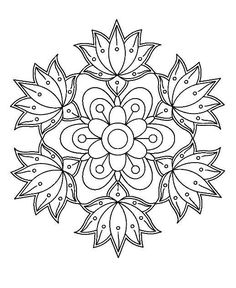 ‎Star Coloring Pages by Number Mandala Art, Mandalas Drawing, Mandala Coloring Pages, Mandala Painting, Mandala Pattern, Dot Painting, Coloring Book Pages, Fabric Painting, Coloring Sheets