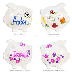 GIVEAWAY: Personalized Jumbo Piggy Bank (Baby Shower Gift Ideas) 2/17