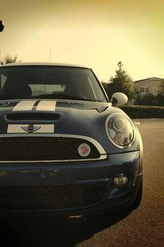 Crazy about mini cooper! I want him!