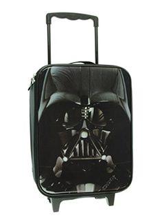 Disney Star Wars Classic Darth Vader BackPack Red Black Reflective Strip Bag