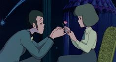 gif Lupin III the castle of cagliostro Manga Anime, Old Anime, Anime Kiss, Hayao Miyazaki, All Studio Ghibli Movies, Animation Stop Motion, Lupin The Third, Les Oeuvres, Funny Images