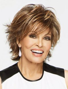 Trend Setter! loaded with layers short and wispy wig by Raquel Welch. #trendsetter #raquelwelch