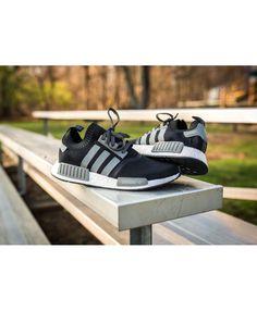 Adidas Originals NMD Runner Primeknit black for mens