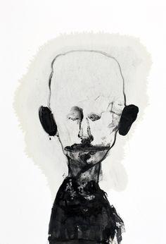 Art from Jesper Waldersten. Arte Horror, Horror Art, Arte Indie, Creepy Art, Gravure, Surreal Art, Art Sketchbook, Portrait Art, Art Inspo