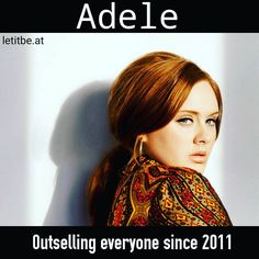 Did You Know?  In the year 2014 Adele's album 21 sold more copies than albums released by Mariah Carey Skrillex Future and Sia. What makes the fact interesting is that 21 came out in the year 2011! Despite time running against it it outsold albums of a few of the most well known and upcoming pop artists in 2014.  #adele #music #musica #musical #musician #legend #rock #pop #soul #jazz #rnb #rocknroll #singer #songwriter #musicislife #lovemusic #cover #jamming #karaoke #amazing #record #fact…