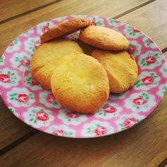 Be Gluten Free - Brighton: Polenta  Honey Biscuits