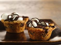 Caramel S'more Cups - For Jordan to take to school for his birthday