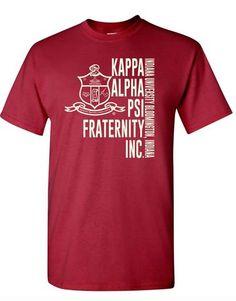 Yo! Apparel - Established Kappa Alpha Psi Men's TShirt - Greek Letters & Name Mens Tee