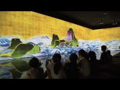 teamLab World: Dance! Future Park Date: From August 2016 Location: Lotte Olympic-ro, Songpa-gu, Seoul, Korea) teamLab is. Interactive Media, Interactive Design, Lotte World, Odaiba, August 31, Play To Learn, Ux Design, Art Museum, Planets