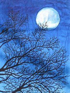 """I See the Moon."" BY, Susan Brubaker Knapp"