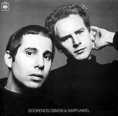 Simon and Garfunkel Bookends cover by Richard Avedon