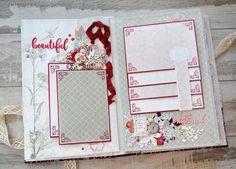 9-2/1-2 Свадебный альбом в цвете марсала. Наталья Yenn.