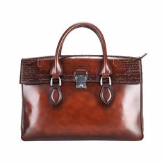 Handbag Dropship Quality Dropshipping Handbags Directly From China High Suppliers Terse Handmade Full Grain Leather Briefcase