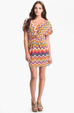 Trina Turk 'Mini Break' Stripe Jersey Dress available at #Nordstrom