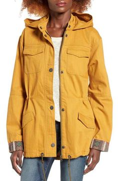 Roxy Fancy Durban Utility Jacket