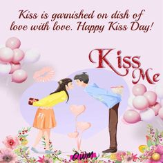 Happy Kiss Day 2020 Quotes, Wishes, Kiss Day Images & Status Kiss Day Messages, Kiss Day Quotes, Kiss Day Status, Happy Kiss Day Images, Valentines Weekend, Day Wishes, Romantic, Beautiful, Romance Movies