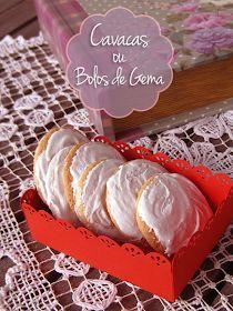 delilicias: Cavacas ou Bolos de Gema Portuguese Desserts, Portuguese Recipes, Portuguese Food, Sweet Desserts, Sweet Recipes, Wine Recipes, Cooking Recipes, Yummy World, Biscuits