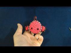 鍵あみで編む(Hook only)ツムツム(TsumTsum)ニモ(Nemo)レインボールーム(Rainbowloom) - YouTube
