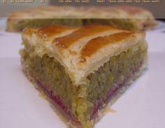 Recette - Galette des rois pistache-framboise   Notée 4.2/5