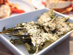 Parmesan Kale Chips | Ina Garten via Food Network