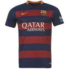 Barcelona Home 2015/16 Home Football Kit's - Available at uksoccershop.com