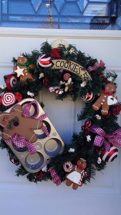 Wreaths by Cherie on Facebook come and see my page this wreath is only $44!