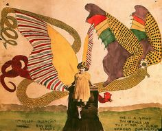 """Henry Darger - Subject of """"In the Realms of the Unreal"""""""