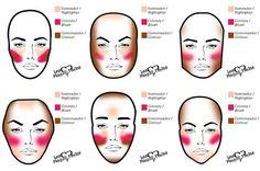 Fotos de moda | Como lograr un maquillaje de rostro  perfecto | http://soymoda.net