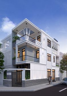 House Front Design, House Elevation, Decoration, Villas, India, Mansions, House Styles, Projects, Anime