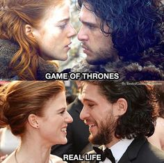 These two, Game of Thrones.