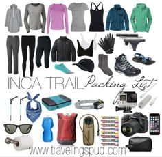 Guide to Hiking the Inca Trail: Tips and Packing List | Traveling Spud #Peru #MachuPicchu