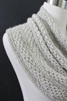 Starshower knit pattern on Ravelry. Blue Sky Alpacas Metalico in Silver. Knit by Carol McKenna.