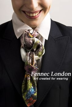 A fennec london silk scarf worn as a tiara is the perfect look upside down even if you are working on this beautiful hot tuesday in london wear a fennec london silk scarf beautifully twisted and knotted as a tie ccuart Choice Image