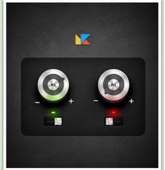 Gleaming Round Metal UI Buttons PSD - http://www.welovesolo.com/gleaming-round-metal-ui-buttons-psd/