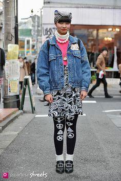 japanese street fashion in Harajuku, Tokyo