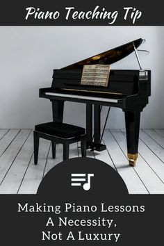 """Luxury Item No More""… Making Piano Lessons a Necessity 