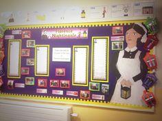 Literacy, history, recounts, writing, Florence nightingale, chronology, timeline, lanterns, art, year 2, display