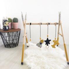 Baby Gym para que no se aburran! Baby Boy Room Decor, Baby Room Design, Baby Bedroom, Baby Boy Rooms, Nursery Room, The Babys, Baby Play, Baby Toys, Diy Baby Gym