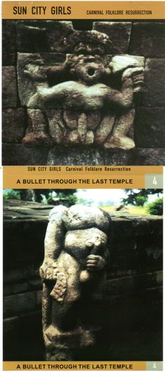 Sun City Girls Carnival Folklore Resurrection / A Bullet through the last Temple # 4 Ltd 1000 copies