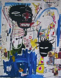Original Edition Giclee on premium paper, Paper Size: x Unsigned & unnumbered. never framed or matted. JEAN-MICHEL BASQUIAT New Y Jean Michel Basquiat Art, Jm Basquiat, Robert Rauschenberg, Keith Haring, Andy Warhol, Pop Art, Art Commerce, Graphic Artwork, Tropical Art