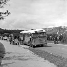 FRAM, Heerenveen de bus op Ameland op weg naar  Midsland