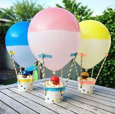 Wat is een feestje zonder een eigen gemaakte traktatie! #HEMA #traktatie #verjaardag #ballon #DIY