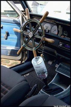 Nautical steering wheel