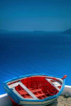 Cool Blue in Oia, Santorini
