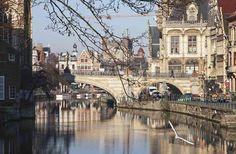 Gante: cidade linda, sustentável e vegetariana