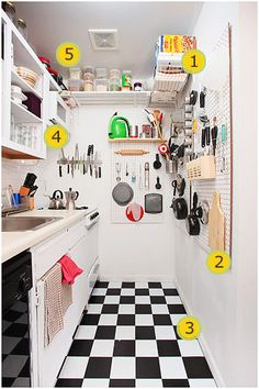 Tiny kitchen for small spaces