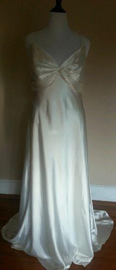 Wtoo Isabella Wedding Dress Bridal Gown Size 18 Ivory