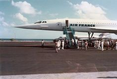 air france concorde, presidential visit to Hao, french polynesia (updated per comment; thank you)